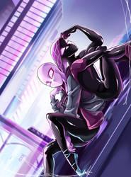 Spiderverse Hoodie swap by Skitea