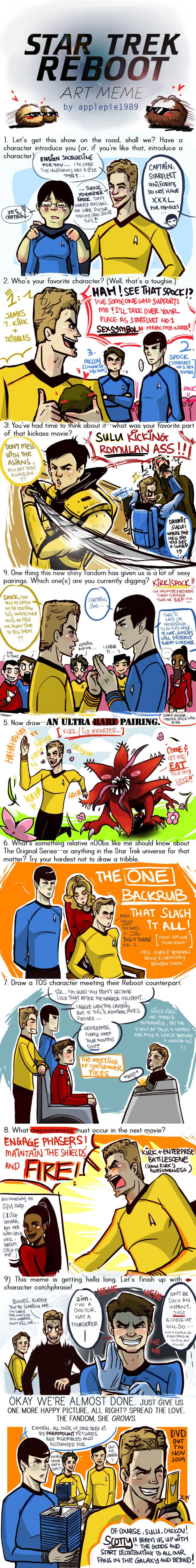 Star Trek Reboot Meme by applepie1989
