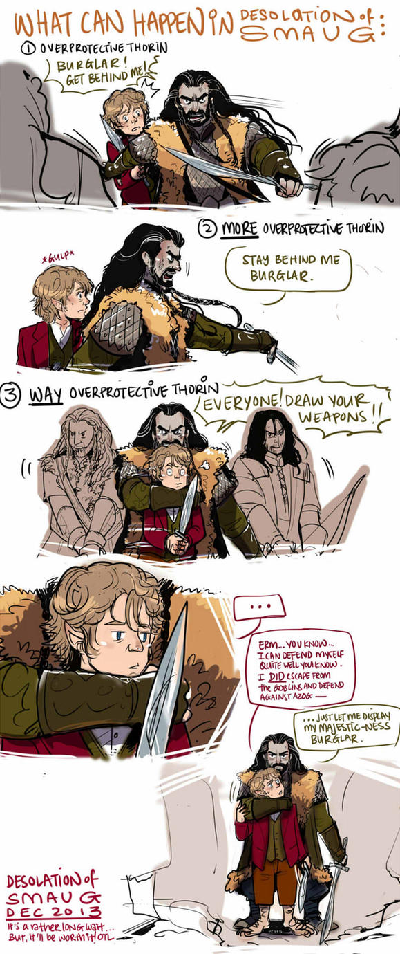 The Hobbit: What can Happen by applepie1989