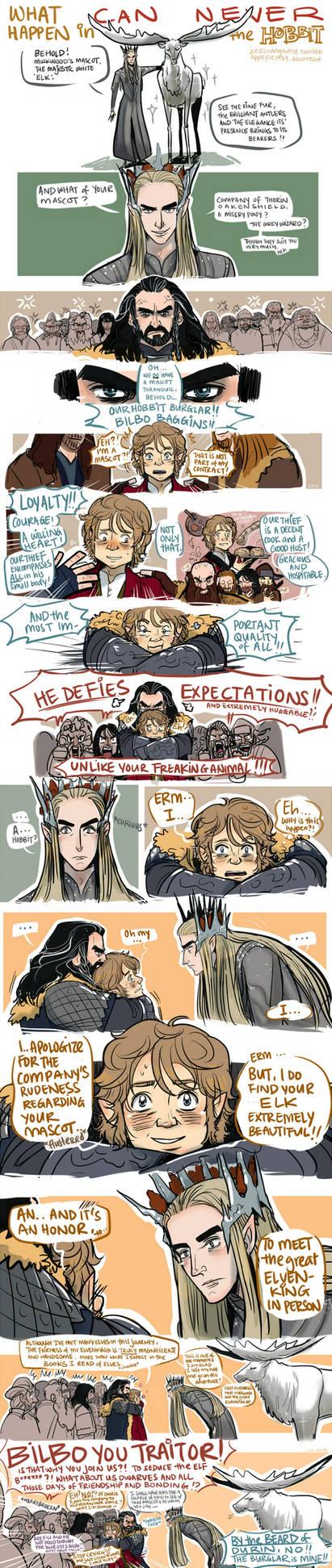 The Hobbit: What can NEVER Happen