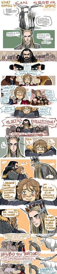 The Hobbit: What can NEVER Happen