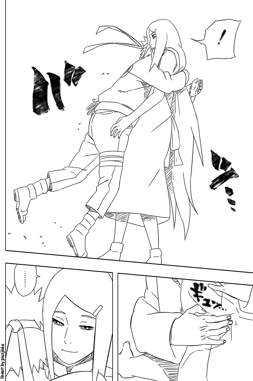 Naruto 498 04 lineart by pruzjinka