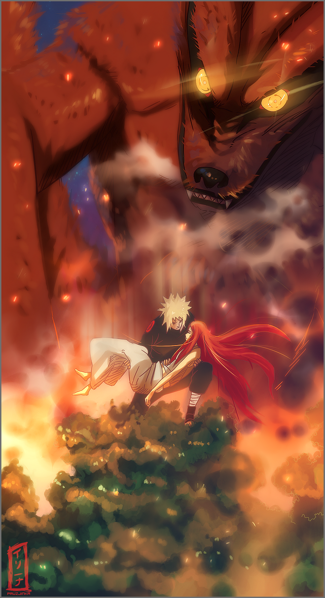 Minato and Kushina 501 by pruzjinka