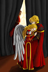 Sanguinius's Twins by vividwings