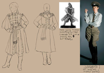 Commissar Costume Design 2 by vividwings