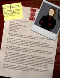 Alexandra Courcel Character Sheet