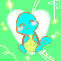 Squirtle Smiles by Chibbur
