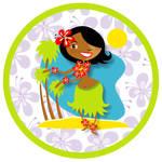 Hula Girl Series No.3