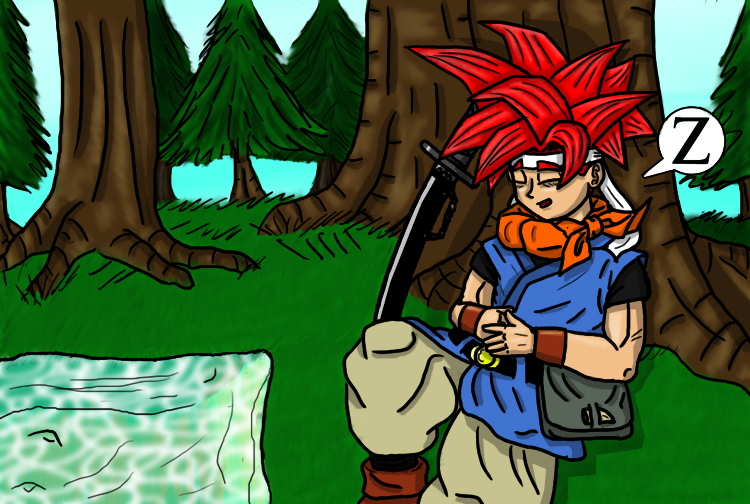 Crono at Rest by jornas