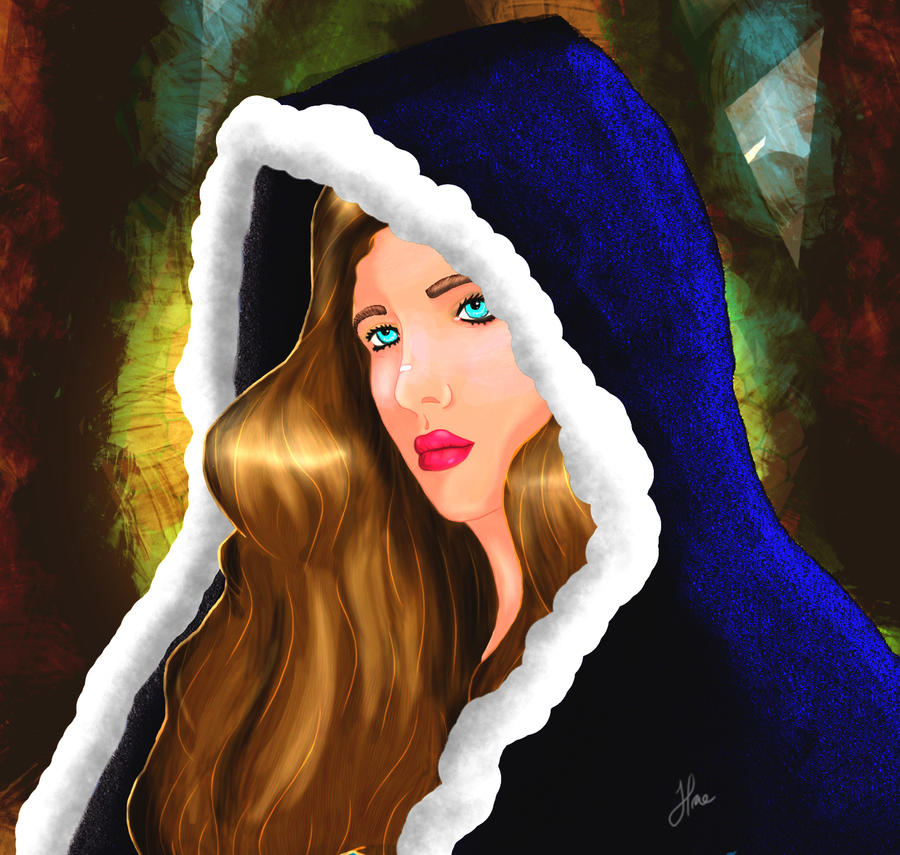 Lady Gwyn of the Mosaic Forest