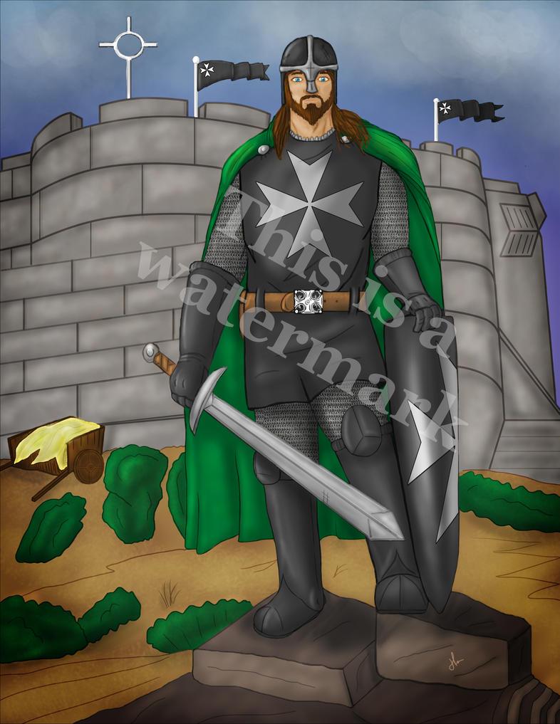 Knights Hospitaller Frappiller by jornas