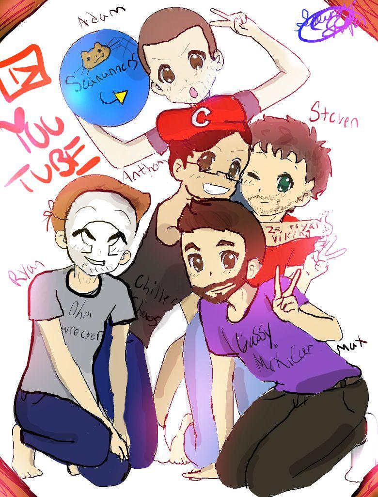 Group Pic Chibi Base Drawing Youtube by kirkinglyenglish on DeviantArt