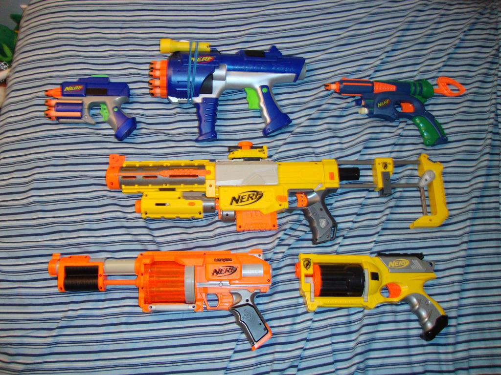 NERF SWAT arsenal by katze316 ...
