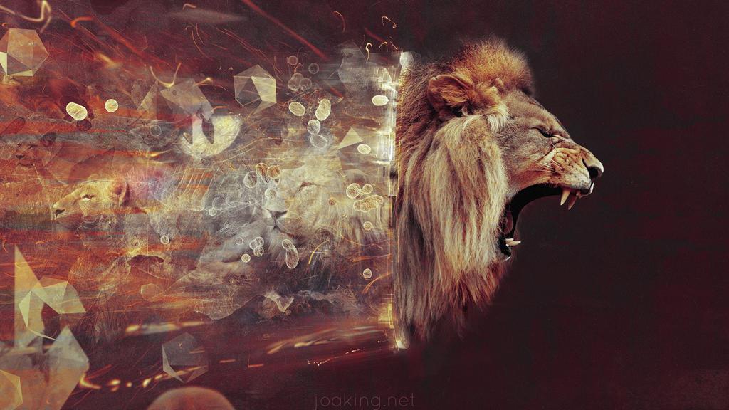 lion by jk3y