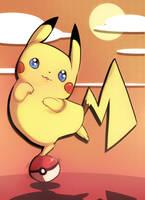 Pikachu!! by PinkPuffKirby