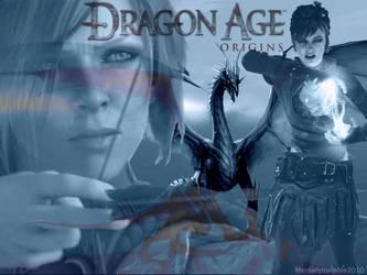 Dragon Age: Origins Wallpaper by Striped-Stocking
