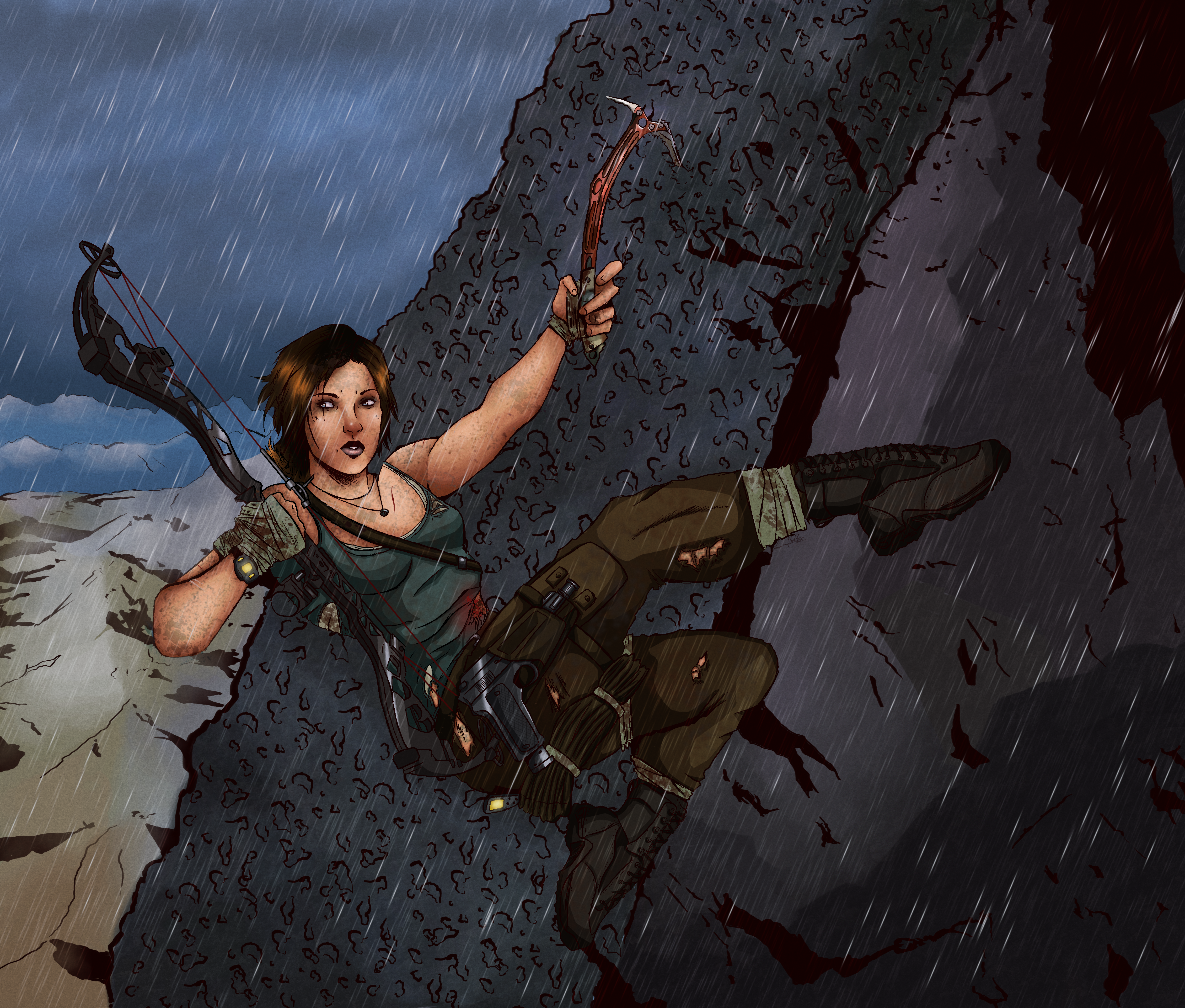 Tomb Raider Reborn Contest Entry by Striped-Stocking