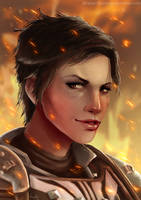 DA: Inquisition - The Seeker by Striped-Stocking