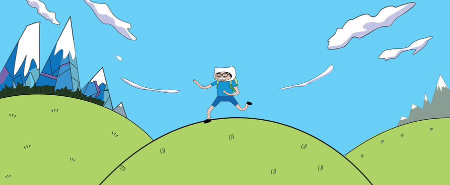 Adventure Time FB cover photo by xeinos