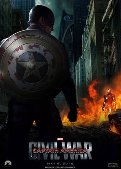 Captain America : Civil War Poster
