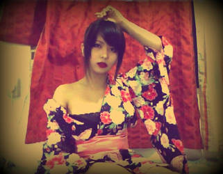 Kimono by switmermaid