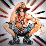 Fire Fist Ace - One Piece