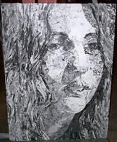 Collage -- Self Portrait by battie42