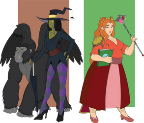 Witches of the West and South