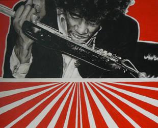 Hendrix guitar by Geerke74