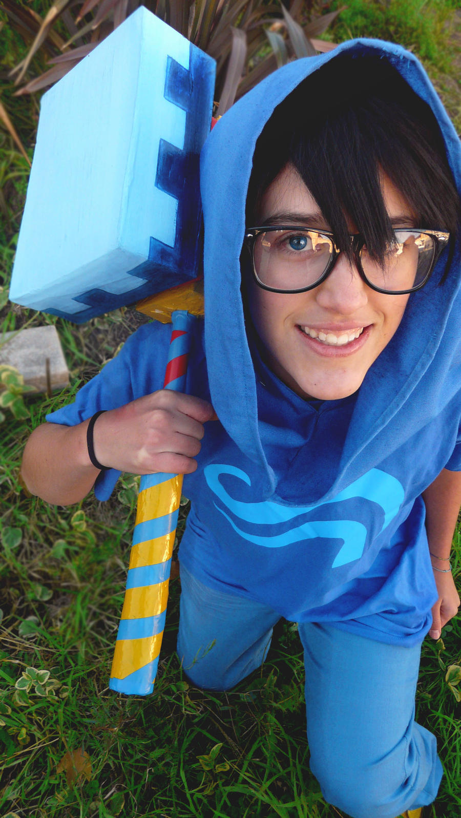 Homestuck - John Egbert by MerBK201