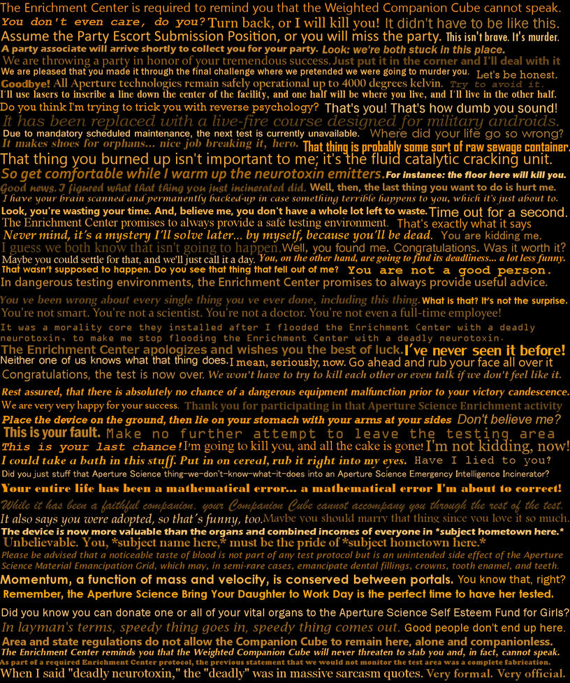 Glados Quotes 2 by