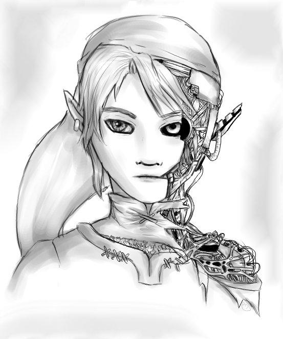 Robot Link by dragontamer75