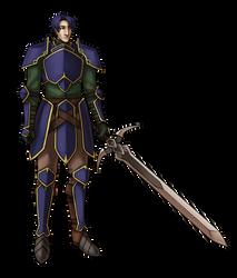 greil mercenary zelgius by dragontamer75