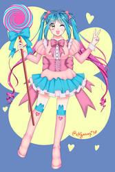 Lollipop girl by xKyanari