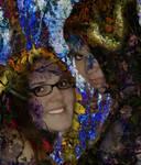 Tree Spirits by KittyKatNTheShadows
