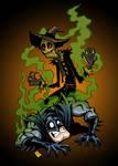 Happy Halloween! Luv, Scarecrow