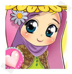 Innocent hijab girl by sabeen675