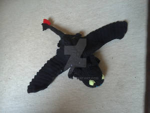 Crochet Toothless 2nd Film