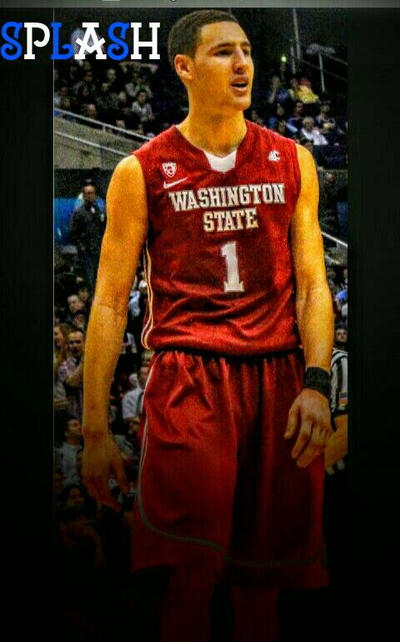 best sneakers cdadd 643c0 NBA players in college part 16 Klay Thompson by JackSwift23 ...
