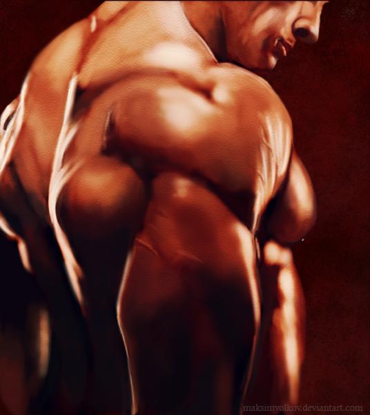 bodybuilder by MaksimVolkov