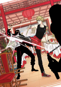 [Kuro-e Challenge] Jorge vs. the ninja squad