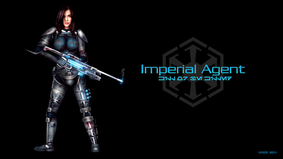 imperial agent swtor wallpaper by dromcz on deviantart