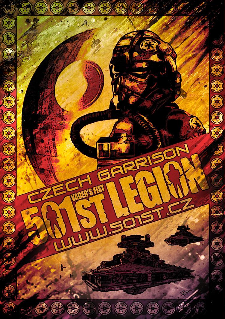501st Legion poster - Czech Garrison by DromCZ