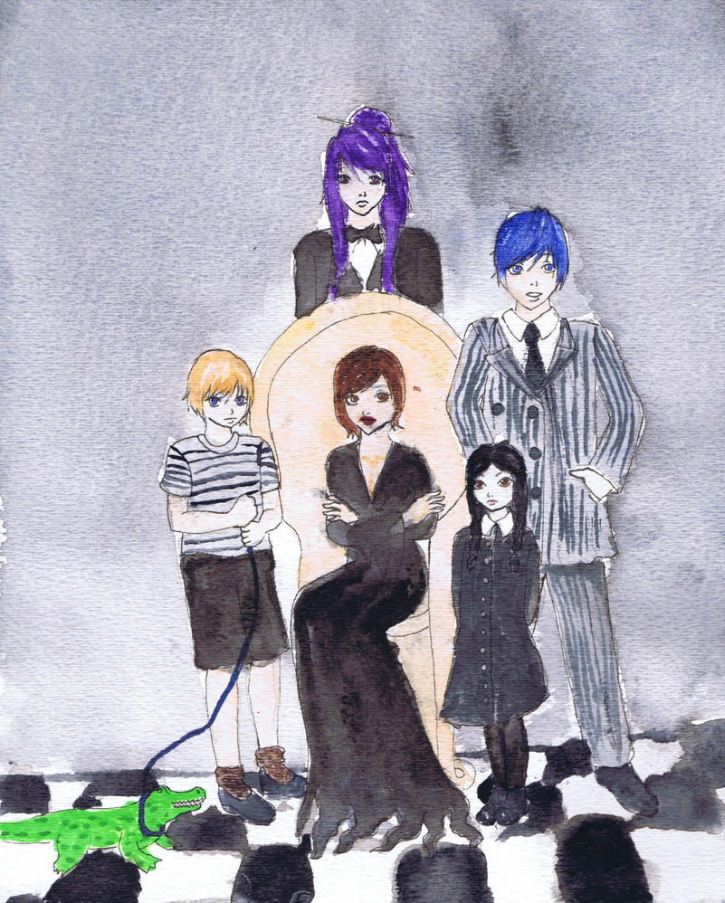 When you're an Addams Vocaloid style by Grishnaka
