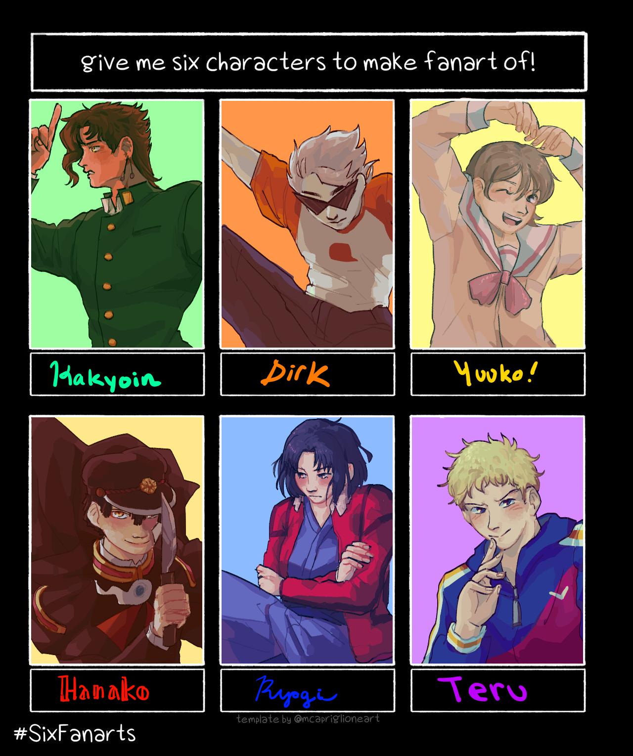 Six Characters 2