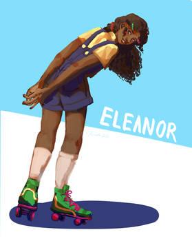eleanor in skates