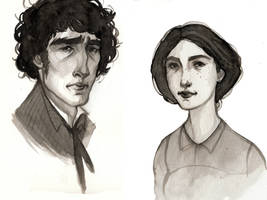 Jane and Edward by aberry89