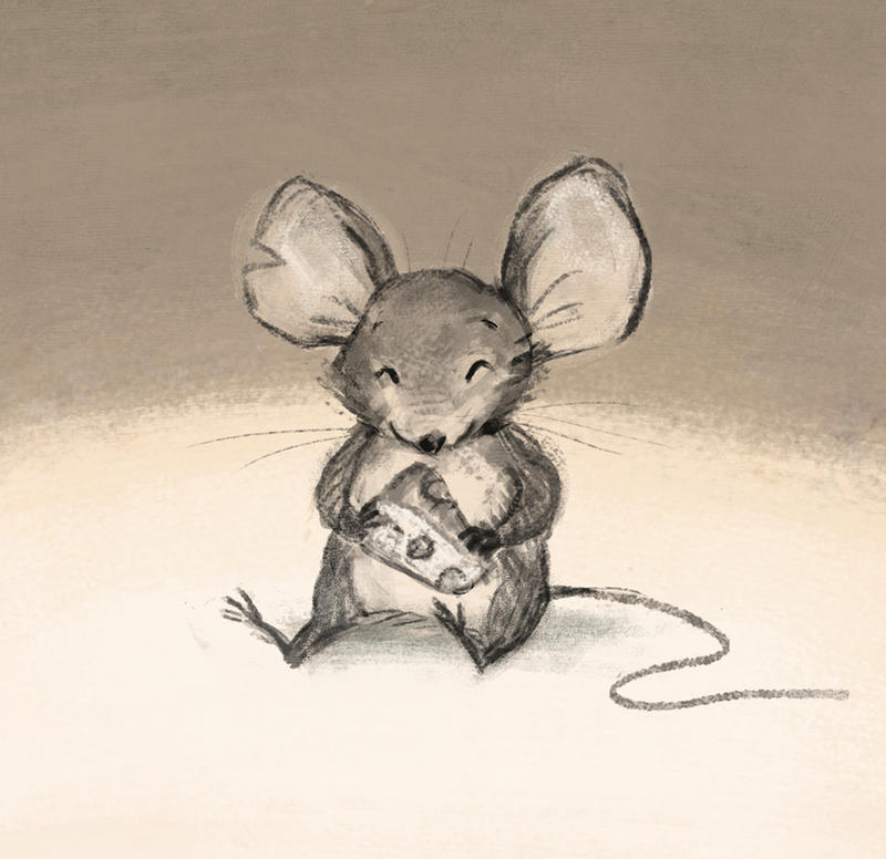 Mouse and cheese by aberry89