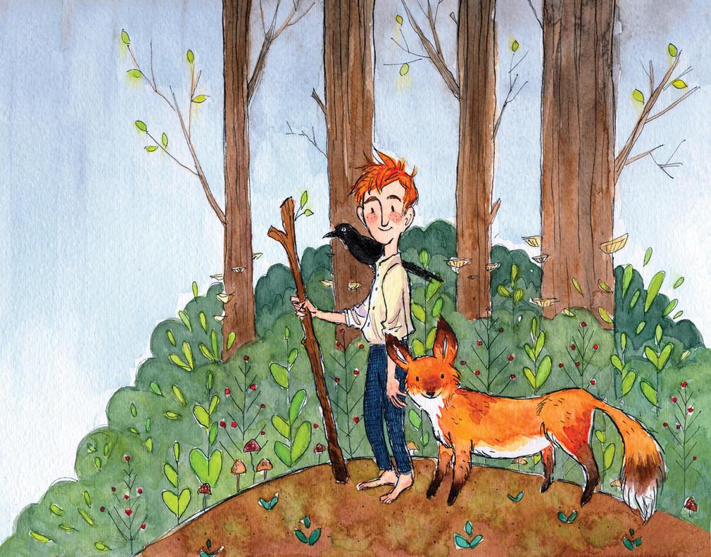 Dickon, The Secret Garden by aberry89