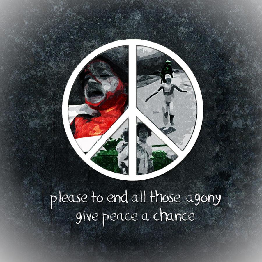 give peace a chance by ScalaCaeli